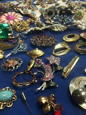 HUGE!! Fresh ESTATE Junk Lot VINTAGE/Antique?  JEWELRY Unsearched, Untested 3