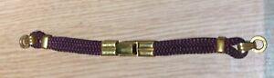 VINTAGE ROLLED GOLD LADIES WRISTWATCH WATCH STRAP BRACELET approx 145mm