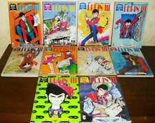 Lupin III Mitico Albi 10 N. 1 - 10 Come da Foto Giugno 1994 Marzo 1995 Lupin 3