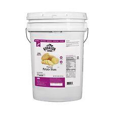 Augason Farms Dehydrated Potato Slices - 10 lb Bucket - Emergency Food Storage