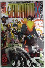 1994 GENERATION X #1  FOIL ACETATE COVER  -  VF/NM                    (INV5297)