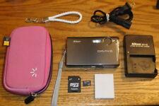 Nikon Coolpix S7c 7.1 MP 3x Nikkor ED Zoom Lens UVGC Gray Guarantee Accessories