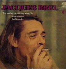 JACQUES BREL La Valse à mille temps Disque VINYL LP 33 T 6325205  France 1959