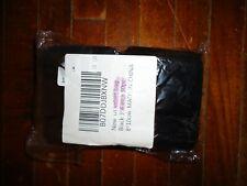 50pcs Black 3x4 Jewelry Pouches Velour Velvet Gift Bags