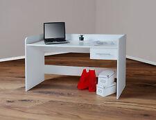 Moderne Schreibtische & Computermöbel aus MDF/Spanplatte-Holzoptik mit Schubfächern