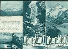 Alter Reiseprospekt Oberstdorf Allgäuer Alpen Fotos Informationen 1936