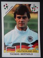 Panini 196 Thomas Berthold Deutschland WM 90 World Cup Story