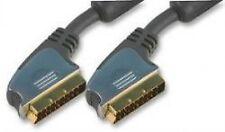 PRO SIGNAL - PSG00984 - PREMIUM SCART LEAD , 5 METRES CABLE