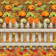 Autumn Fall HALLOWEEN PUMPKIN PATCH BACKDROP Party Decoration PHOTO PROP