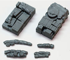 """1/72 Scale (2 Pack) Allied Truck Blobs/Loads Set """"AT3"""" - Resin Value Gear"""