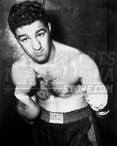 Rocky Marciano fighting stance black and white 8x10 11x14 16x20 photo  010