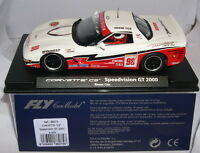 FLY 88075 A-544 SLOT CAR CORVETTE C5 SPEEDVISION GT 2000 #85 REESE COX MB