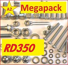 Yamaha RD350 - Nut / Screw / Bolt Stainless Fasteners A2 MegaPack