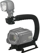 Pro Deluxe Video Stabilizing Bracket Handle for Canon Vixia HF R400