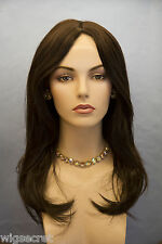 Long Blonde Brunette Red Straight Hand Tied Wigs