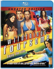 Wild Things: Foursome (Blu-ray) Jillian Murray, Marnette Patterson NEW
