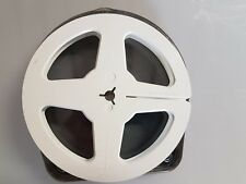 "Super 8mm Cine film spool 200 ft (aprox 5"" diameter) with case"