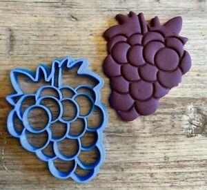 Grape bunch cookie cutter, biscuit cutter, fruit, Wine Night, Cheese board,
