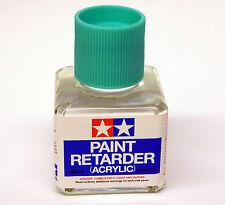 Tamiya 87114 Paint Retarder (Acrylic) 40ml Bottle NEW Slows Drying Time & Levels