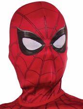 Spider-man Mask Costume Hood Childs Kids Boys Spiderman Spider Man Homecoming