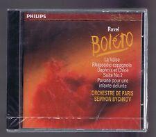 RAVEL CD( NEW) DAPHNIS ET CHLOE RAPSODIE ESPAGNOLE  BOLERO SEMYON BYCHKOV