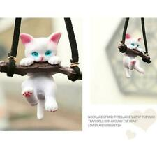 Car Ornaments Branch Cat Rearview Mirror Pendant Car Simple Decoration G4O5