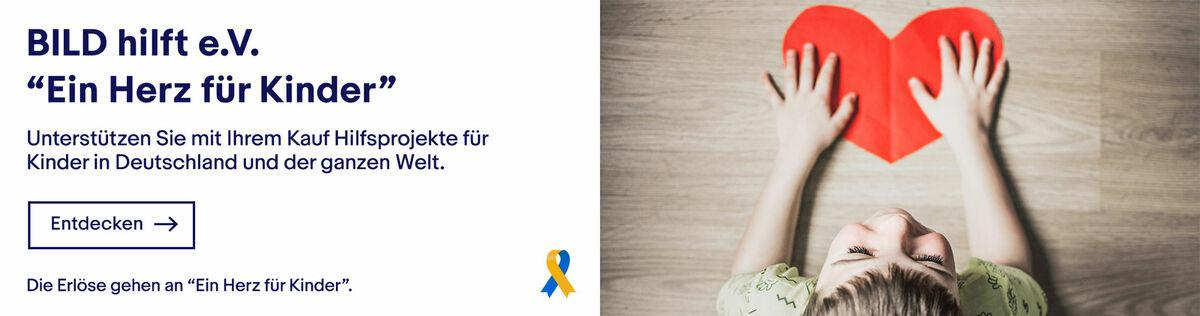 """BILD hilft e.V. """"Ein Herz für Kinder"""""""