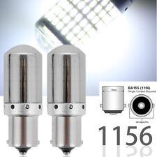 Front Signal Light 1156 BA15S 7506 3497 P21W 144 White LED Chrome Bulb M1 MAR