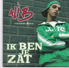 Ali B-ik Ben Je Zat cd single