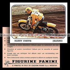#pnms79.176 ★ Pilote HARRY EVERTS (SUZUKI) Moto Cross ★ Panini Moto Sport 79