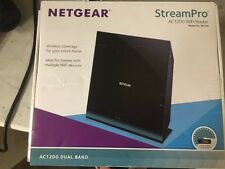 Netgear StreamPro R6100-100NAS Dual-Band AC1200 Gigabit WiFi Router