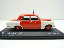 Minichamps 430033190 1:43 Mercedes Benz 180 1956 Feuerwehr Frankfurt C4023