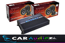"""Two Sets 6.5"""" Speakers and Amplifier Package Bargain Vulcan VX62 Amp Car Audio"""