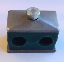 Doppelschelle 16 mm Schelle für Hydraulik Schlauch 10-L Hydraulikschlauch