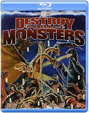 Godzilla Destroy All Monsters! BLURAY NEW! OOP! IN STOCK! USA ENGLISH DUBBED