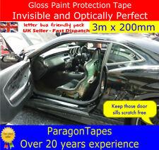 3m x 200mm Gloss Paint Protection Tape film Car Door Sill Boot Bumper vinyl Wrap