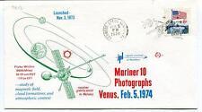 1973 Mariner 10 Photographs Venus Mercury Kennedy Space Cemter USA SAT