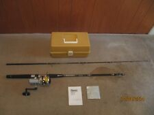 New listing Daiwa 2600C Silver Series Spinning Reel & Rod Combo w/Tackle Box