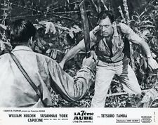 WILLIAM HOLDEN  THE 7th DAWN 1964 VINTAGE LOBBY CARD #1