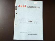 Original Service Manual Schaltplan  Akai AM-U04