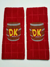 Embroidered Donkey Kong Hand Towel Set - Kitchen / Bathroom - Nintendo Mario n64