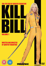 KILL BILL - VOLUME 1  - DVD - REGION 2 UK
