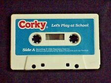 TALKING CORKY DOLL CRICKET'S BROTHER AUDIO TAPE TITLED LET'S PLAY AT SCHOOL