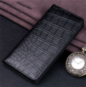 Crocodile Texture Leather Wallet Flip Case Cover for iPhone 13/12 mini/Pro/Max