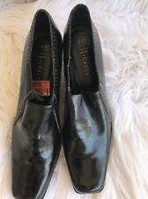 NICKELS Black Ankle Boots Booties High Heel Shoes 8.5