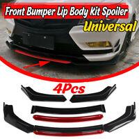 Gloss Front Bumper Spoiler Chin Lip Splitter Valence For BMW E90 E91 E92 E93