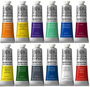 Winton Oil Paints Winsor & Newton 37ml Tube Artist Art 47 Colours Professional