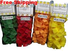 Wax Melts Tarts 8oz 40 pc Mini Chunks Cubes Chips Home Fragrances Scents