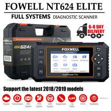 Full System Diagnostic EPB Oil Reset One Key VIN OBD 2 Auto Scanner NT624 Elite