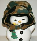 Nice caps toddlers winter cap with gloves camo pattern fur linning